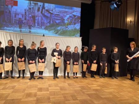 Występ naszego Koła Teatralnego Team -T na scenie w Warszawie