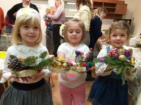 Warsztaty świąteczne w Biedronkach
