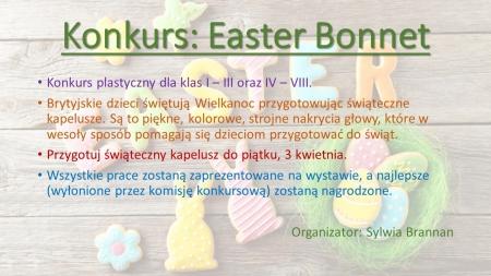 Konkurs Easter Bonnet