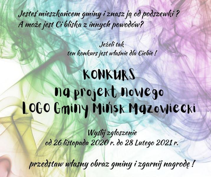 Konkurs na projekt LOGO Gminy Mińsk Mazowiecki