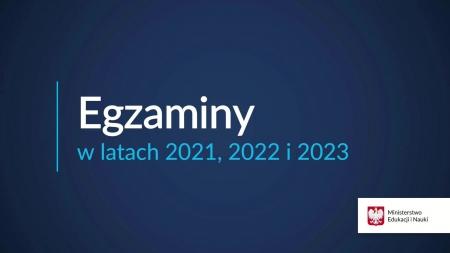 Egzaminy w latach 2021, 2022, 2023