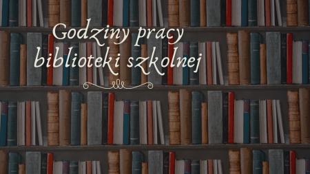 Godziny pracy biblioteki